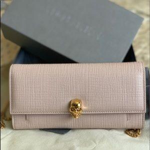 NEW SEASON Alexander McQueen Purse Wallet on Chain